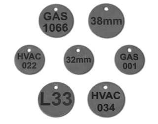 Valve Tags Stainless Steel